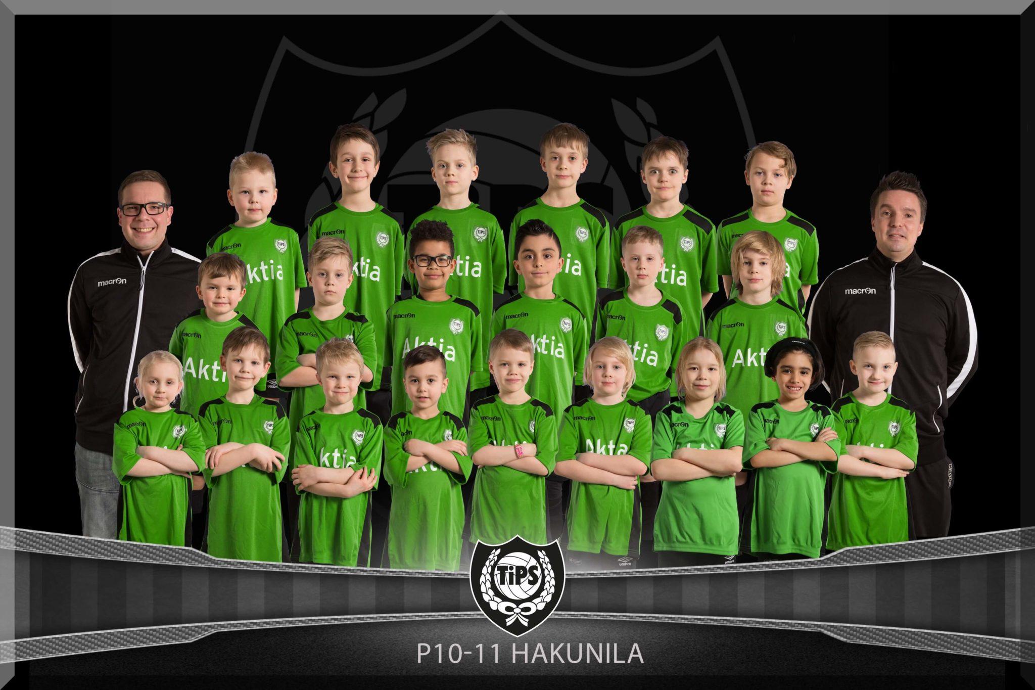 TiPS pojat 2012 Hakunila