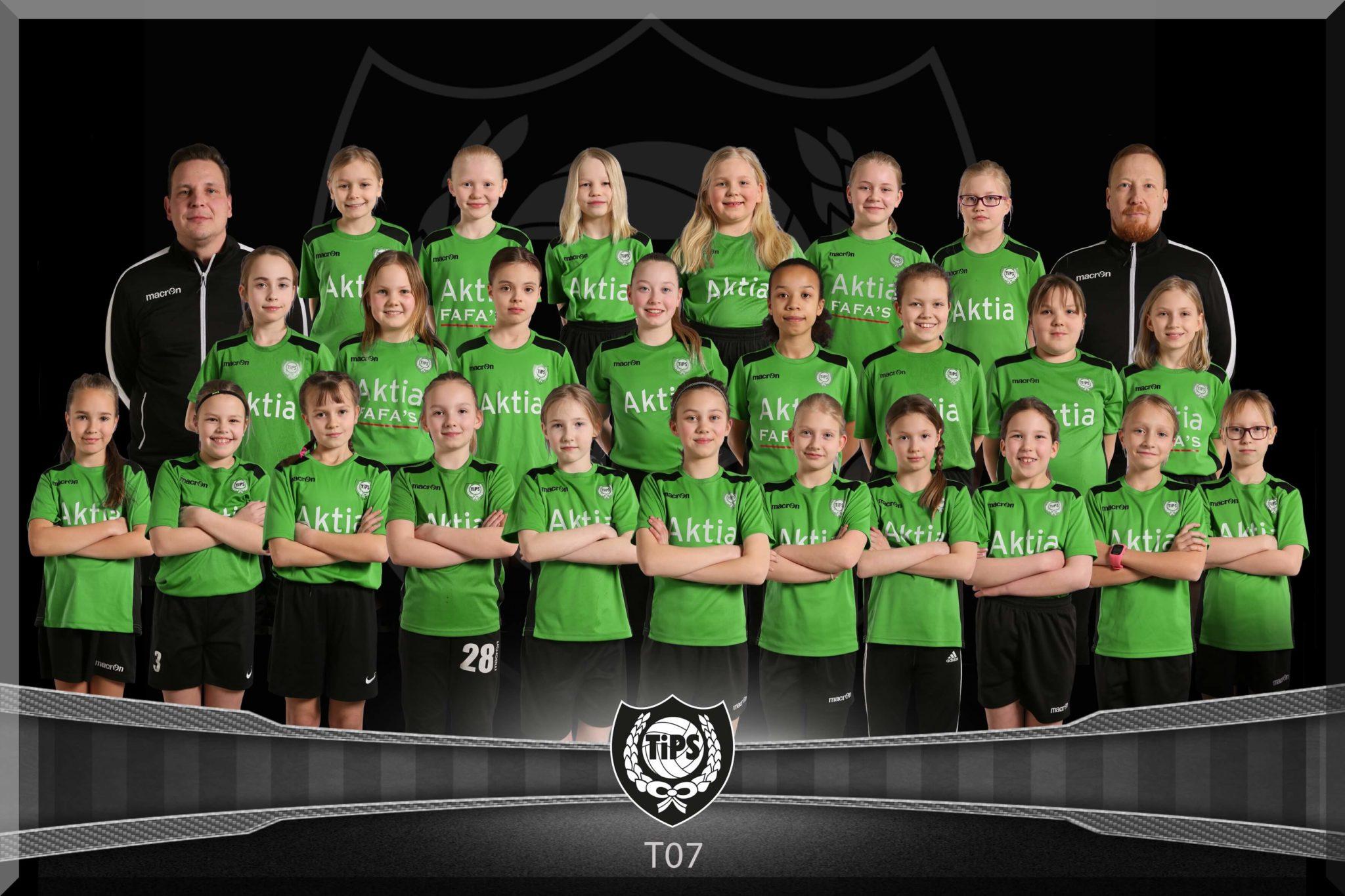 TiPS tytöt 2007