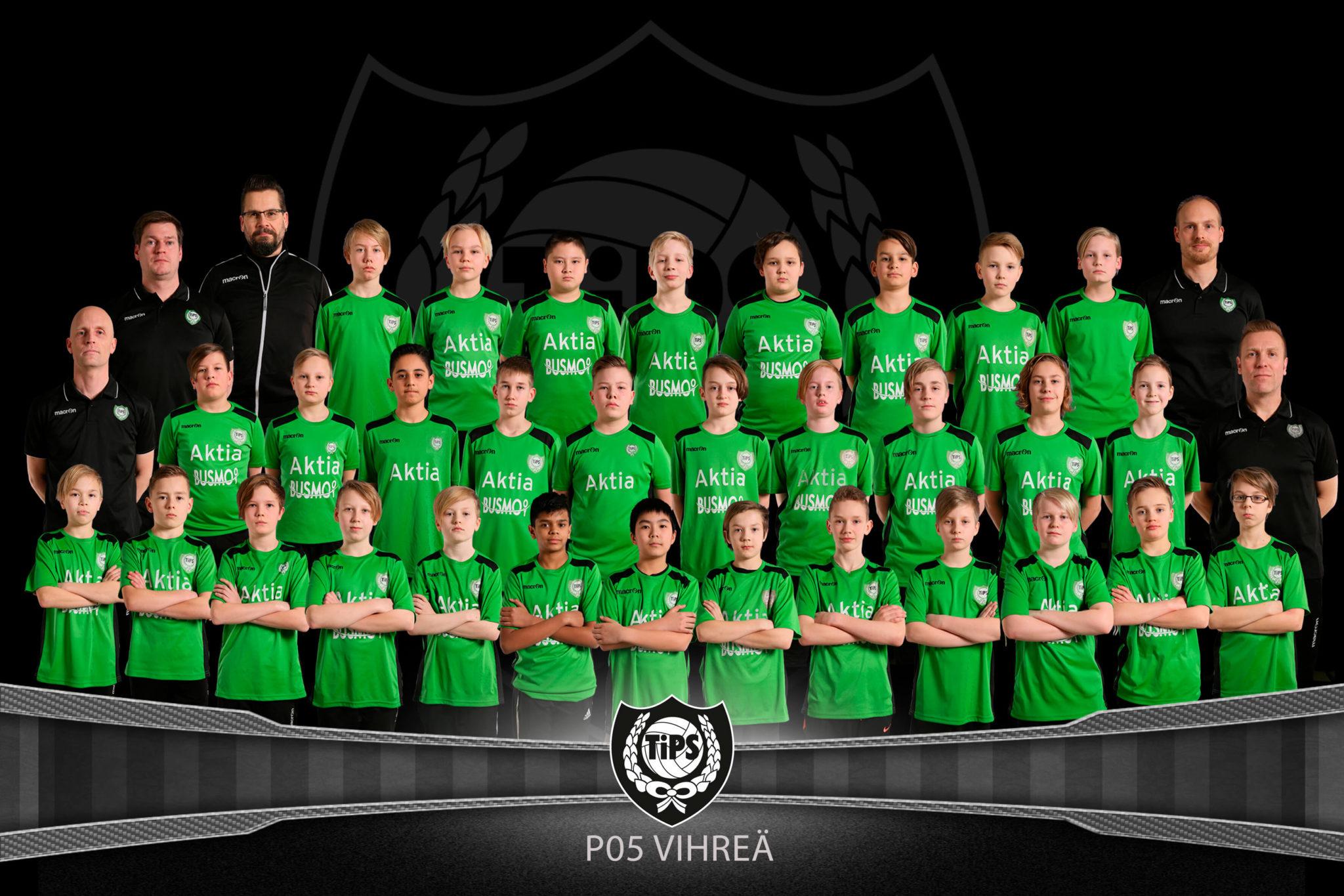 TiPS pojat 2005 Vihreä