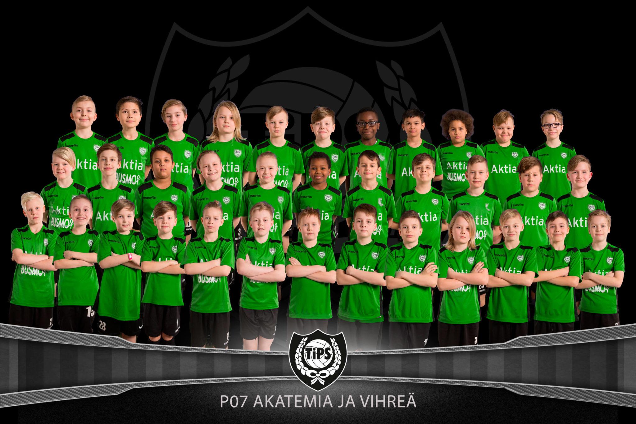 TiPS pojat 2007 Vihreä