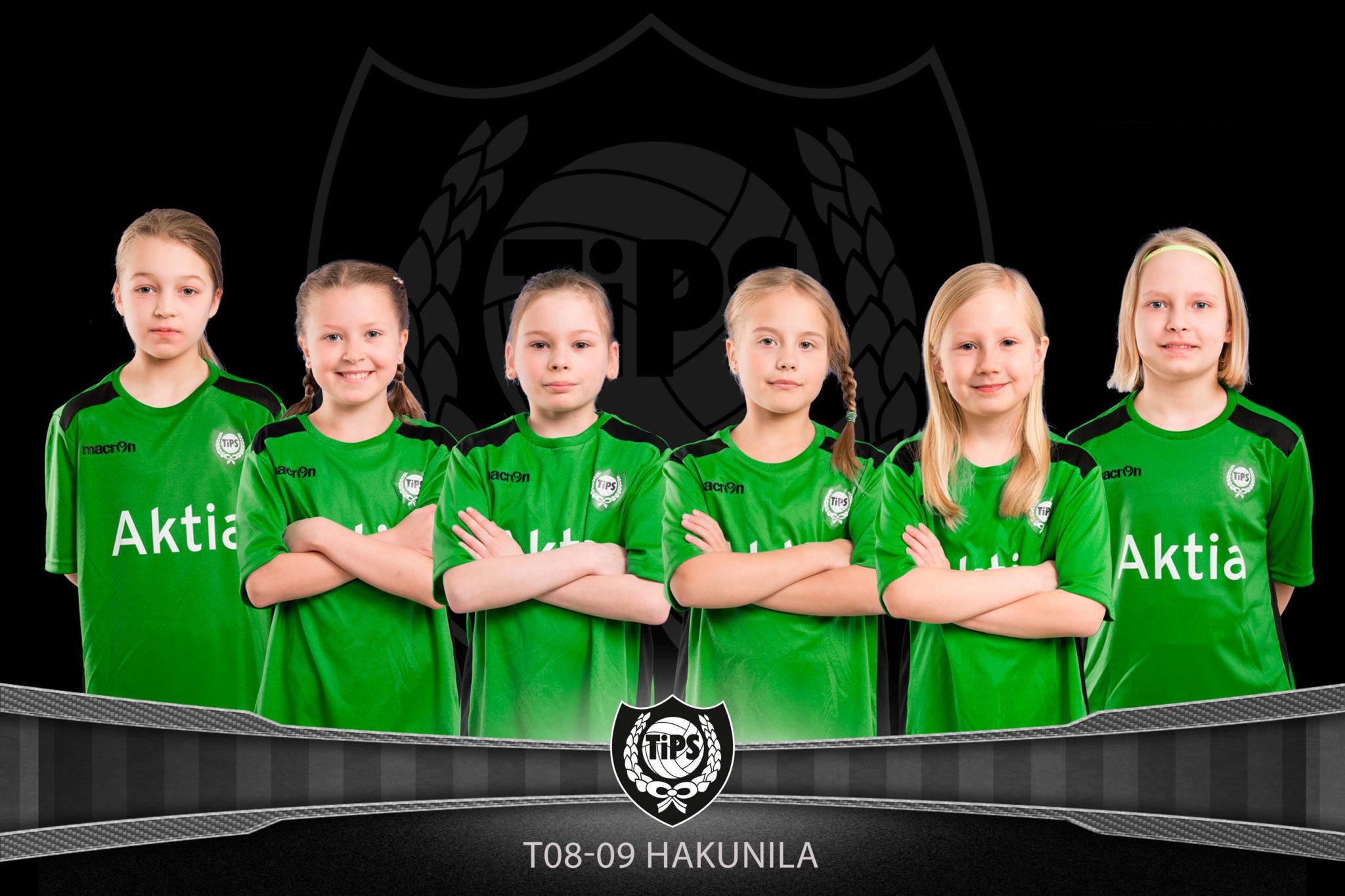 TiPS tytöt 2010 Hakunila