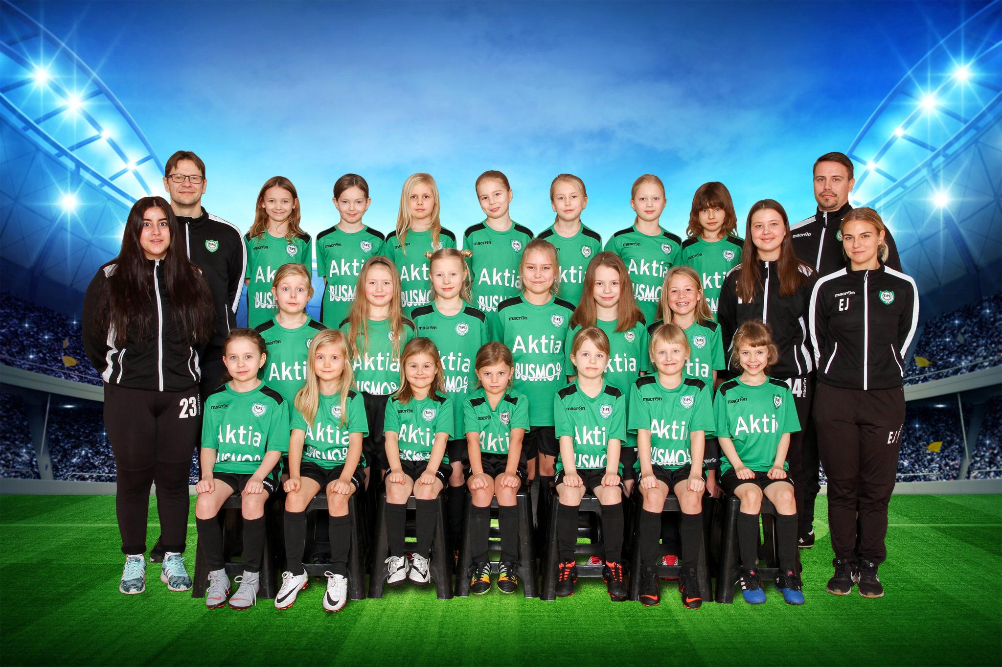 TiPS tytöt 2013 Hakunila